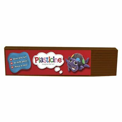 Plasticine 500g Brown