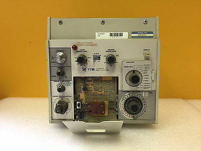 Tektronix 178 Linear IC Test Fixture + Standard Op Amp Test Card. For 577 System