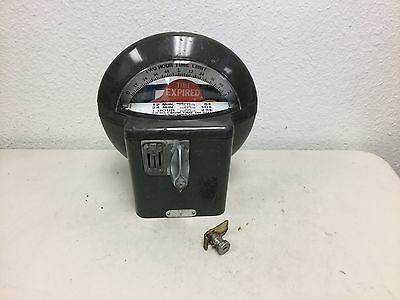 Duncan model 76 Parking Meter coin bank new dome lock removed #1