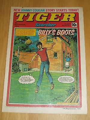 Tiger Comic 8/9/1979 With Notts County Team  Centrefold Poster