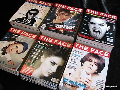 The Face Vol. 2 Complete. Issues 1 - 100. Job lot. Collection. Very Rare.