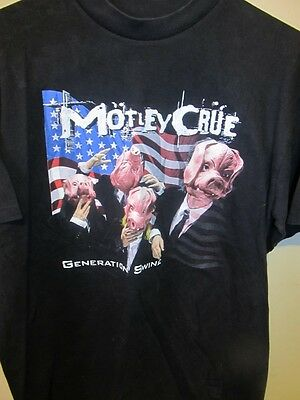 Motley Crue - Generation Swine tour shirt - Adult Large
