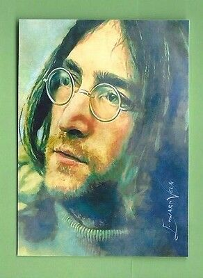 JOHN LENNON 2016 EDWARD VELA SKETCH ART SER #d 13/25 BEATLES-- ARTIST SIGNED