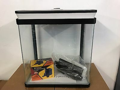 SUNSUN 15L Brand New Glass Fish Tank Complete Set