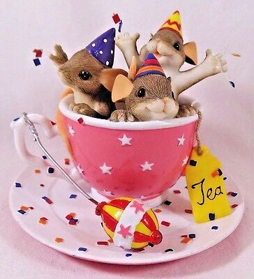 Charming Tails Figurine Tea Party