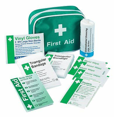 Safety First Aid K306 - Kit di pronto soccorso da viaggio per 1 persona (q8C)