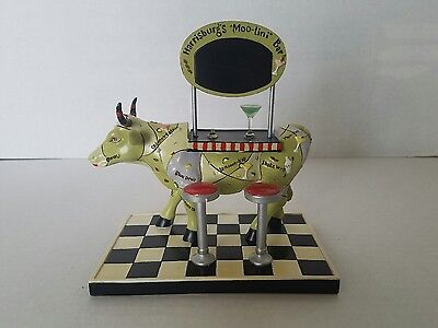 COW PARADE ITEM No. 47759 Harrisburg's Moo-tini Bar