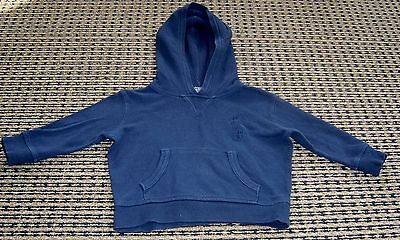 Polo By Ralph Lauren Baby Boys Hooded Top Sz 9 - 12 Months