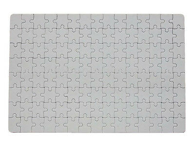 Blank Rectangular Jigsaw - Sublimation