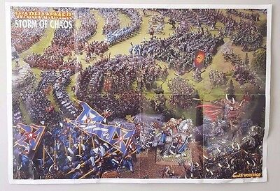 Games Workshop Citadel Warhammer 40,000 Rare 2 Posters Storm Of Chaos 2008