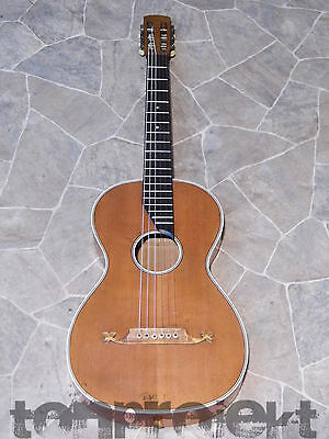 antique historical PARLOR Guitar all solid Germany ~1920 PLAYER