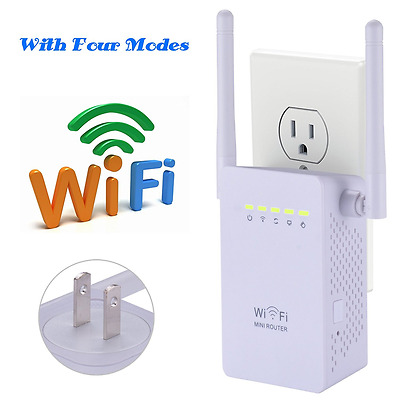 LURICO Wifi Router, 300Mbps Wireless Repeater / Wifi Range Extender / Amplifier
