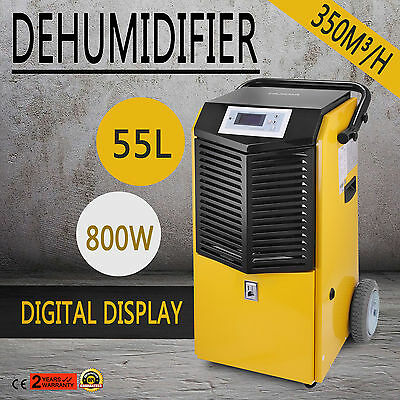 New 97Pints/D 2 BD76 Commercial Dehumidifier 16 One-29 Air Mover Geen