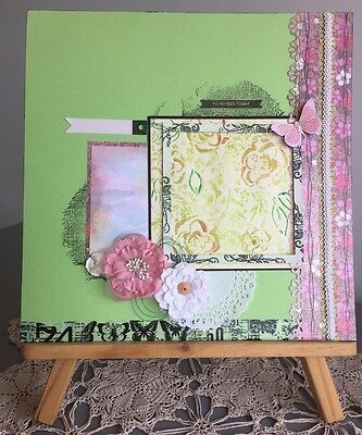 REMEMBER TODAY Handmade Scrapbooking Page