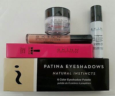 SKINN Open your eyes & see the difference 5pc Set NEW