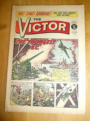 HAMPDEN BOMBERS IN BELGIUM Sgt HANNAH YOUNGEST V.C. WW2 COVER STORY VICTOR 1973