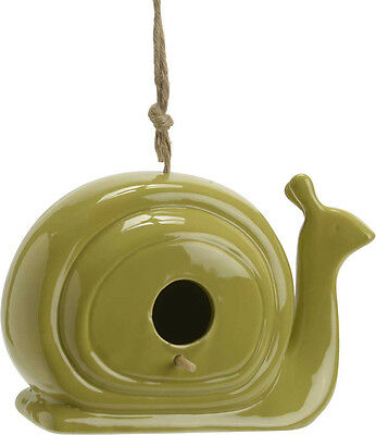 Nichoir escargot en porcelaine