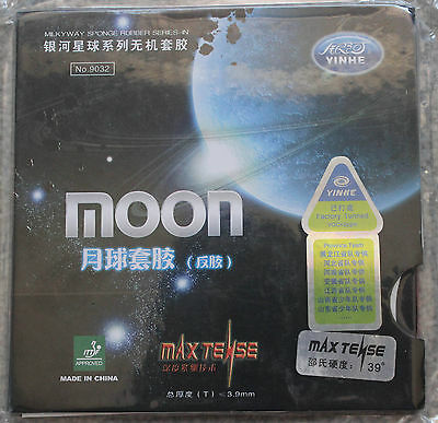 Galaxy Moon Table Tennis Rubber/Sponge (MAX TENSE) 9032, Factory tunned, Melbour