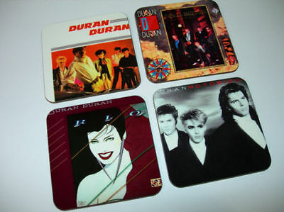 Duran Duran Album Cover COASTER Set