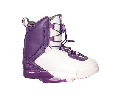 Liquid Force Womens Wakeboard Bindings - Team 2017 - IPX Chassis, Closed Toe, Gi