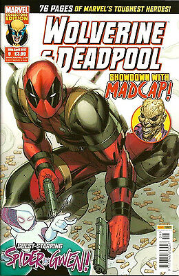 Wolverine and Deadpool Showdown with Madcap Marvel/Panini Comics #4/9 ##AB200