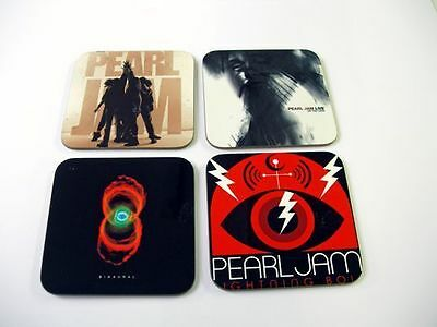 Pearl Jam Album Cover COASTER SET #3