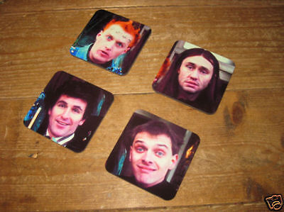 Rik Mayall The Young Ones Drinks Coaster Set