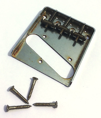 Aged Tele Bridge Threated Saddles fits to Tele ®