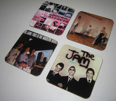 The Jam Album Cover COASTER Set