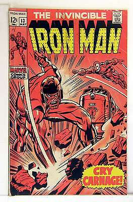 Iron Man (Vol 1) #  13 Very Good (VG)  RS003 Marvel Comics SILVER AGE