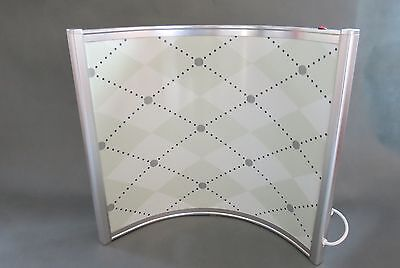 Curved Free Standing 300W Far Infrared Heating Panel - Perfect For Desks Office