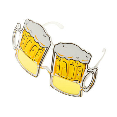 Novelty Beer Goggles Yellow Funny Gift Sunglasses Stag Night Hen Party