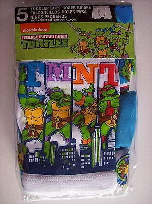 Teenage Mutant Ninja Turtles Boy Underwear Underpants Boxer Briefs Select Sz NIP