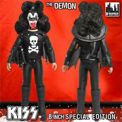 KISS 8 Inch Action Figures Series 2: The Demon Hotter Than Hell Bloody Variant