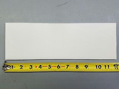 """Delrin Plastic Sheet 1/4"""" Thick 4"""" X 12"""""""