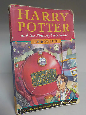 J.K. Rowling - Harry Potter & The Philosopher's Stone - 1st/1st - 1997 VERY RARE