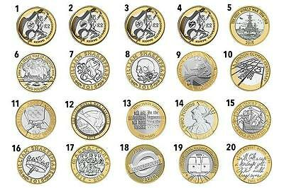 UK CHEAPEST £2 COINS OLYMPIC,SHAKESPEARE,KingJames CommonWealth, Mary Rose £2