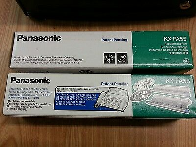 Panasonic KX FA55  two 2 packs