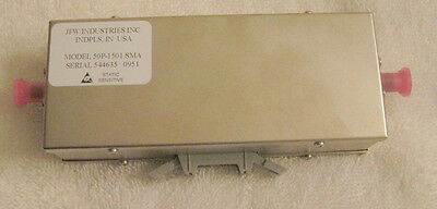 JFW Industries 50P-1501 SMA Solid State Programmable Attenuator BRAND NEW SEALED