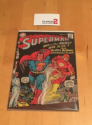 DC Comics - Superman #199, The Race Between Superman And The Flash! (1967)