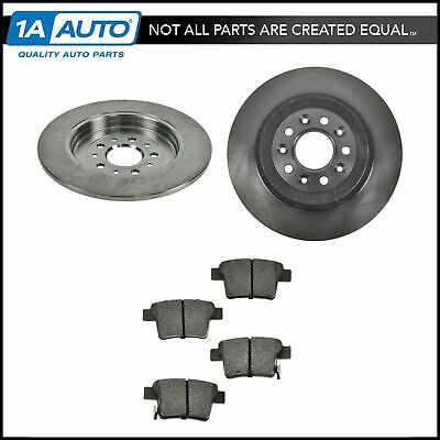 Nakamoto Front Semi Metallic Brake Pad /& Rotor Kit for Freestyle Taurus Montego