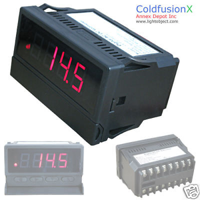 Programmable 4 digit Red LED AC/DC Amp/Current meter