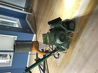 "Super Hummel by Lagler Hardwood Floor Sander 12"" w/ light & cyclone hepa filter"