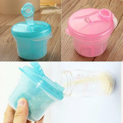 Baby Formula Pot Milk Powder Box Dispenser 3 Compartment Container