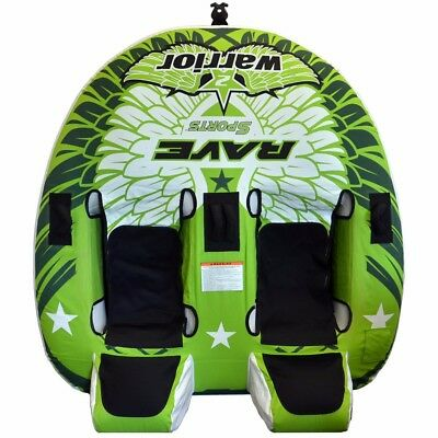 NEW Rave Sports Rave Warrior 2™ Towable - 2-rider 02462