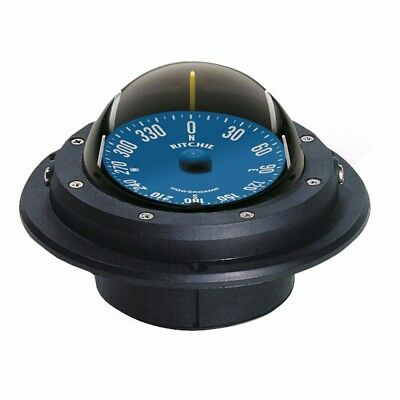 NEW Ritchie Ru-90 Voyager Compass - Flush Mount - Black