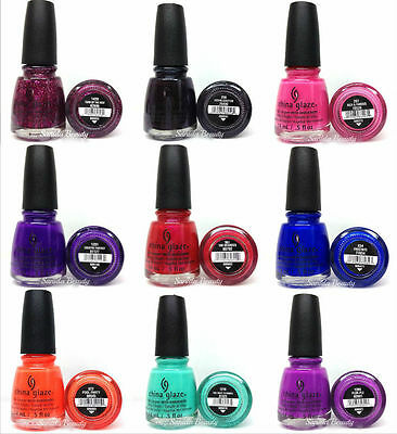 China Glaze Nail Lacquer- Nail Polish Collection Series 7 - Pick Any Color