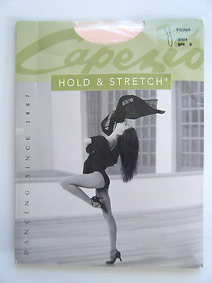NEW * NIP Adult S  Capezio HOLD STRETCH Footed Tights N14 BPK Ballet Pink Tights