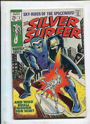 Silver Surfer #5 (6.0) And Who Shall Mourn For Him?