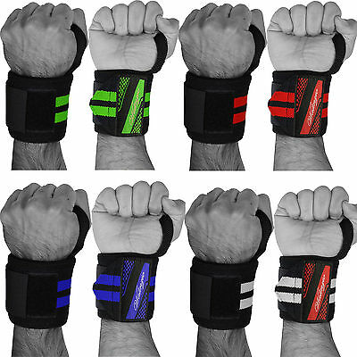 Weight Lifting Wrist Wraps Bandage Hand Support Gym Brace Cotton Straps